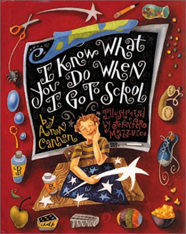 I Know What You Do When I Go to School ebook