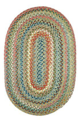 Chelsea Rug, 2 ft by 3-feet, Peridot from RRI Home Decor