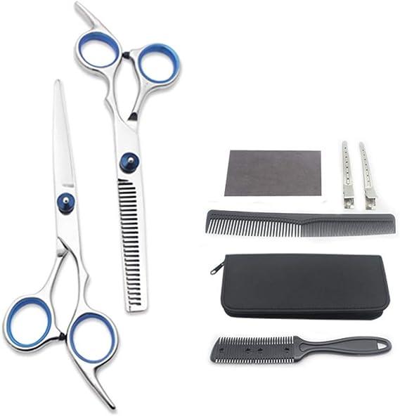 8pcs/set professionale forbici da parrucchiere kit per ...
