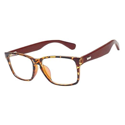 Deylaying Cru Bois Myopie Lunettes Anti-radiation Petite vue Myope Des  lunettes -1.0~-6.0 (Ces sont pas lunettes de lecture)  Amazon.fr  Vêtements  et ... 782b4124c0a