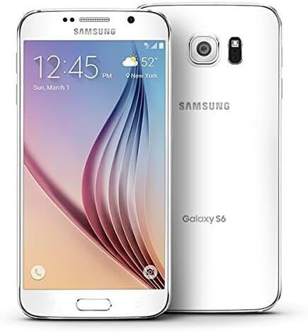 Samsung Galaxy S6, G920P White Pearl 32GB - Sprint (Certified Refurbished)