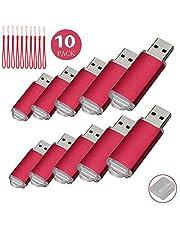 Paquete con 10memorias USB. Pen Drive USB 2.0 (256.0MB)