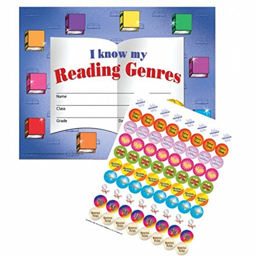 Reading Genres Stick-to-it Certificates with Reward Stickers (150 certificates and 1600 stickers)