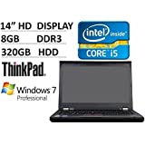 2016 Lenovo Thinkpad T430 14-inch Business Laptop PC (Intel Dual Core i5 Processor up to 3.3GHz, 8GB RAM, 320GB HDD…