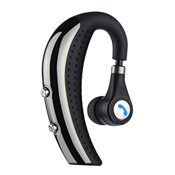 ESYNiC Auricular Bluetooth 4.0 Deportivo Auricular Inalámbrico de Clip con Micrófono para Reproductor MP3 Apple iPhone