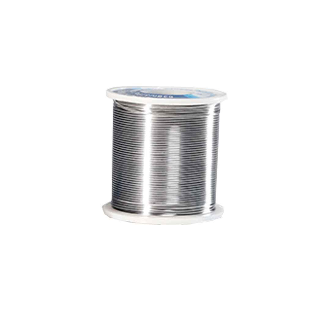1.0MM 100 g de estaño soldadura del alambre de bajo punto de fusión punto de soldadura de estaño colofonia Core para la soldadura de la reanudación de la ...