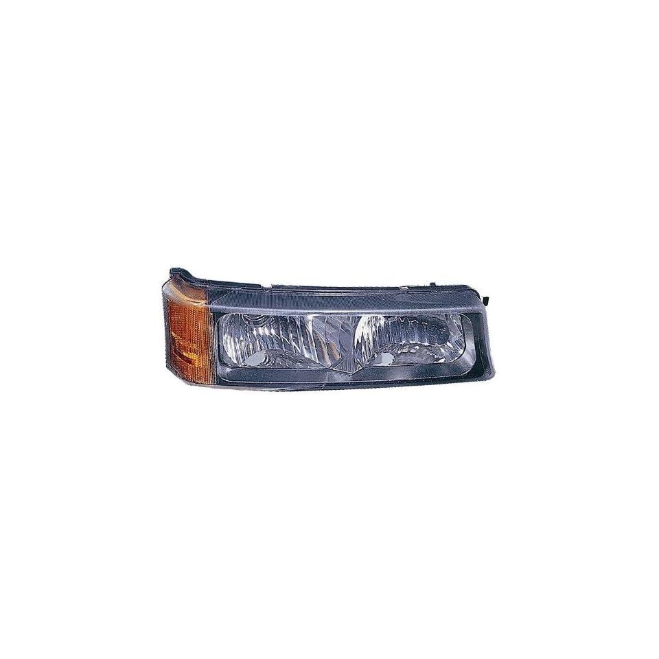 Depo 335 1604L UC Chevrolet Silverado/Avalanche Driver Side Replacement Parking/Signal Light Unit