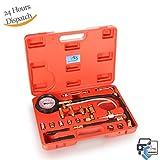 Dromedary Fuel Injection Pump Injector Tester Kit Test Pressure Gauge Red Case 0-140PSI