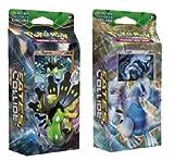 Pokemon XY Fates Collide - BOTH Theme Decks Zygarde & Lugia, 120 cards