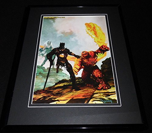 Black Panther 2007 Marvel Zombies Framed 11x14 Poster