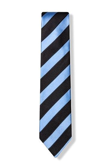 Legale Blue Silk Tie For Boys