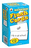 img - for Basic Sight Words Flash Cards, Ages 6 - 9 book / textbook / text book