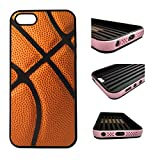 CorpCase iPhone SE / 5 / 5S / 5SE Case - Basketball/ Hybrid ULTRA Protective iphone 5/5S/5SE Case With Great Style - Features Unique 2-in-1 Hybrid protection with TPU+Plastic