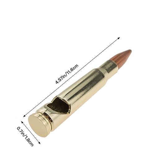Amazon.com: Calibre 50 bala abridor de botellas llavero ...