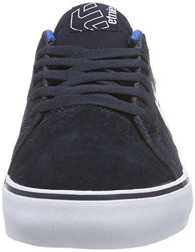 Etnies FADER LS VULC - zapatillas deportivas altas de cuero hombre Azul (navy/blue/white)