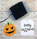 Halloween Gift Tags - Happy Halloween and Pumpkins (Set of 30