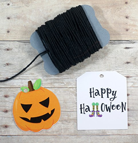 Halloween Gift Tags - Happy Halloween and Pumpkins (Set of 30 by The Paper Medley