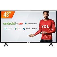 Smart TV LED, TCL43S6500, 43, Preto
