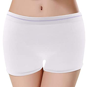 3073bf3e8aa6 Manternity Knickers Disposable C Section Maternity Pants Postpartum  Underwear for Women After Birth (Pack of
