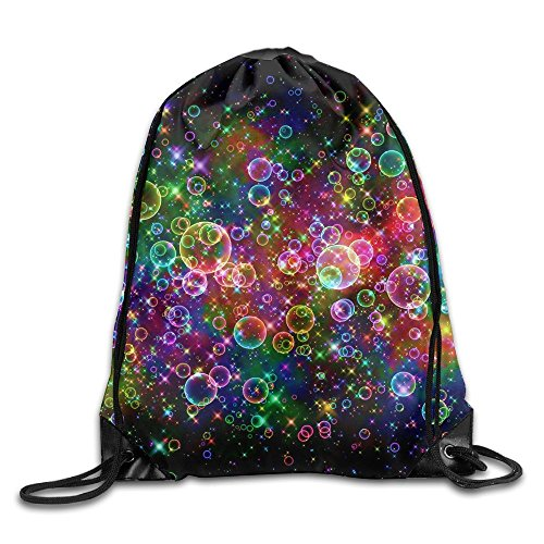 Colorful Light Art Drawstring Bags Portable Backpack Travel Sport Gym Bag Yoga Runner Daypack Shoe Bags]()
