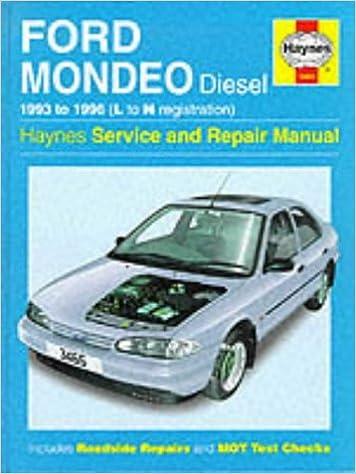 Ford mondeo petrol & diesel service and repair manual: john s.