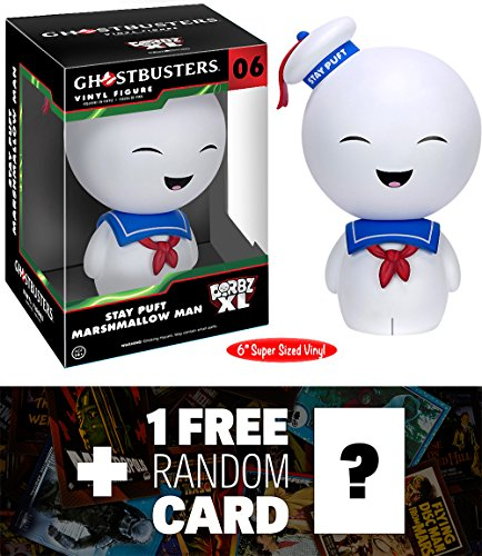 "Stay Puft Marshmallow Man: ~6"" Funko Dorbz XL x Ghostbusters Vinyl Figure + 1 FREE Classic Sci-fi & Horror Movies Trading Card Bundle [72599]"