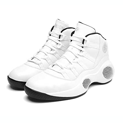 c9ee94f05cfd Hy Unisex Casual Shoe Spring Fall Synthetic Leather Basketball Shoes High-top  Running Shoes