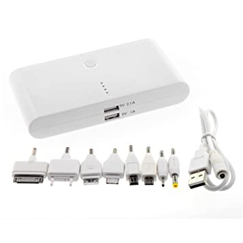 La Louvre® Cargador de batería externo, gran capacidad, 50000 mAh ...