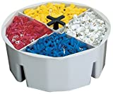 CLC Custom Leathercraft 1154 4-Inch High, Full-Round Bucket Tray