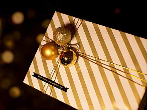 ANZON MORIES Papel de envoltura de regalo de dise/ño bot/ánico /único para cualquier ocasi/ón 3 patrones en 1 rollo de 9 hojas 44.5cmx70cm envoltura de papel de envoltura Kraft 80GSM