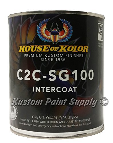 House of Kolor C2C-SG100 Shimrin Intercoat Clear 1 Quart by House of Kolor