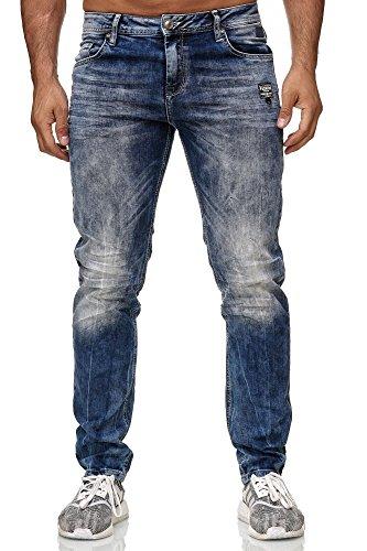 Red Bridge Hombre Vaquero Pantalones Usado Mira Vintage Jeans Azul