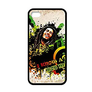 Generic Design Back Phone Covers For Guys Design With Bob Marley For Apple Iphone 4 4S Choose Design 1