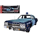 Autoworld AMM1023 1974 Dodge Monaco Pursuit Massachusetts State Police 1-18 Limited to 2000 Piece