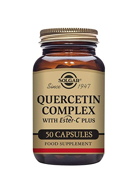 Solgar Quercitina Complex con Ester-C Plus Cápsulas vegetales - Envase de 50