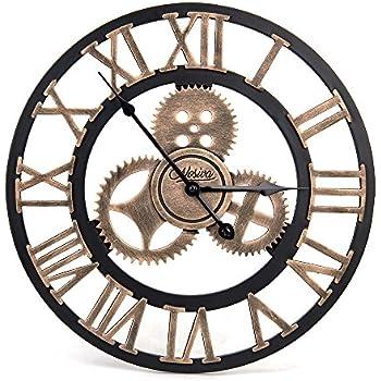Amazoncom Bike Rim Wall Clock Large 24 Diameter Bicycle Wheel