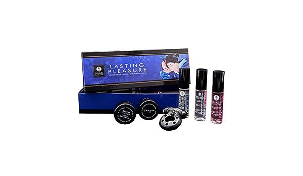 Shunga Kit Everlasting Pleasure, Color Azul/Negro - 243 gr: Amazon.es: Salud y cuidado personal