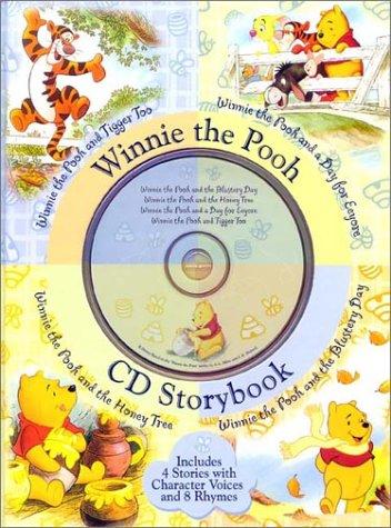 Winnie the Pooh CD Storybook (4-In-1 Disney Audio CD Storybooks)