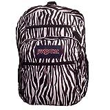 JanSport Big Student Backpack- Sale Colors (Black/White Zebra Stripe)