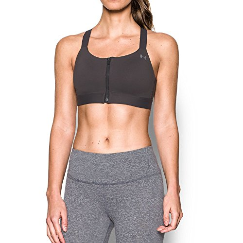 3be53dc310 Under Armour Women s Armour Eclipse High Impact Zip Sports Bra ...
