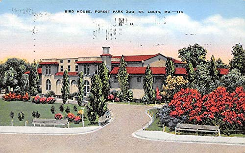 Zoos Bird House, Forest Park Zoo St Louis, Missouri, USA 1941