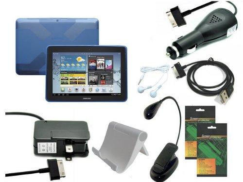 iShoppingdeals - 8 Item Bundle Accessories Pack for Samsu...