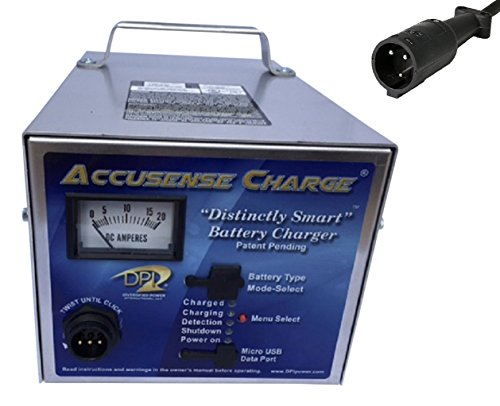 DPI GEN IV 48 volt 17 Amp Golf Cart Charger with Club Car Round Connector -No OBC (Cart Club Charger)
