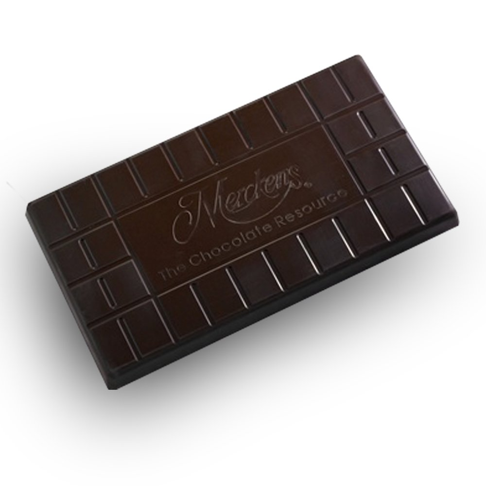 Merckens Yucatan Baking Extra Dark Chocolate Coat, Dark Chocolate - Cargill Products, Kosher Certified, 50 lbs