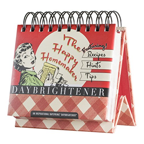 DaySpring The Happy Homemaker, DayBrightener Perpetual Flip Calendar, 366 Days of Inspiration