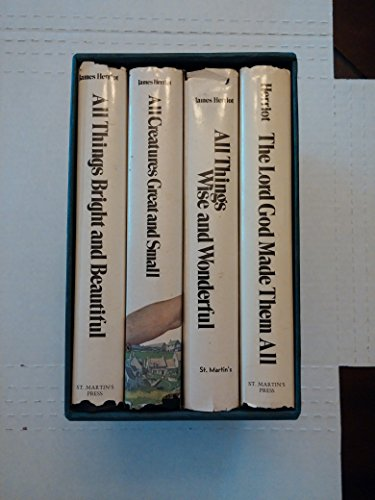 James Herriot: Set 5 Titles: All Creatures Great and Small, All Things Bright and Beautiful, All Things Wise and Wonderful, the Lord God Made Them All, Every Living Thing