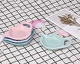 ACE SELECT 4 Pieces Teapot Shaped Tea Bag Holder