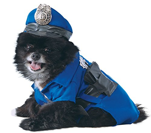 Rubie's Police Dog Pet Costume, Small (Adult Cop Belt)