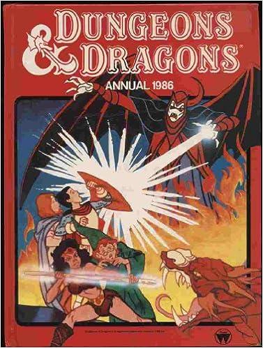 Resultado de imagem para uk dungeons dragons annual 1986