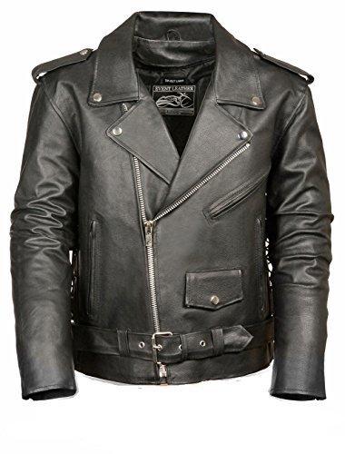 Shaf Leather Jacket - 3